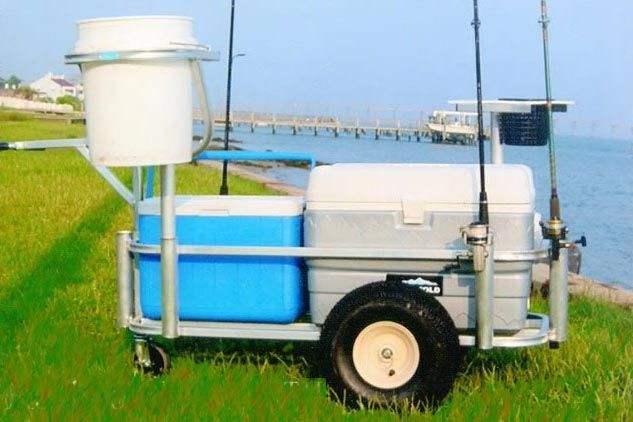 Fishing cart buyers guide for fishing carts buyer guide for Homemade fishing cart