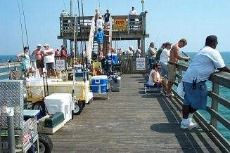 Pier Fishing Cart
